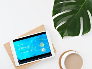 Papier connecté NFC